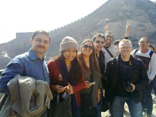 together at Greatwall