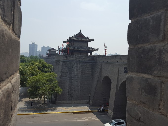 Xi'an City Wall - East Gate