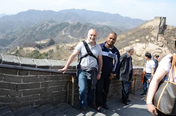 Picture taken by our patient guide Suzi at Badaling