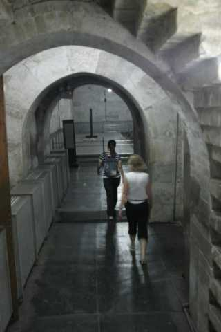 In The Tomb, underground palace.