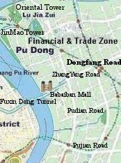 Check Hotels in Shanghai Pudong Area