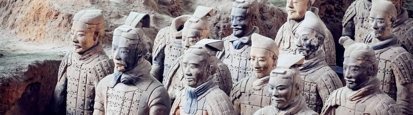 China tour to Xian Terra-cotta Warriors