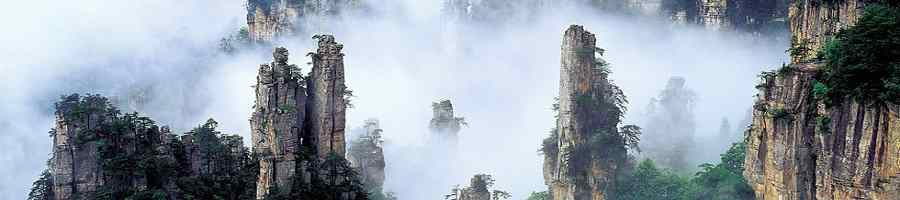 Zhangjiajie Tour, Hike Tianzi Mountain
