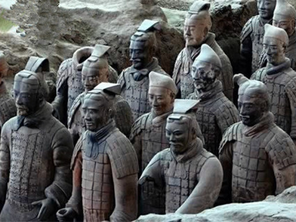 Terra-cotta Warriors and Horses
