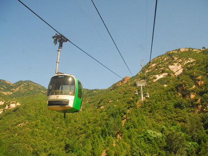 Cable Car of Badaling Great Wall