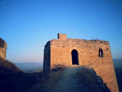 Simatai Great Wall in Spring