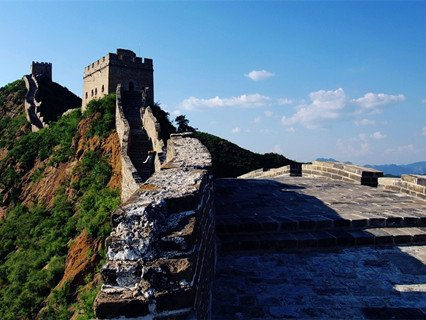 Simatai Great Wall in Summer