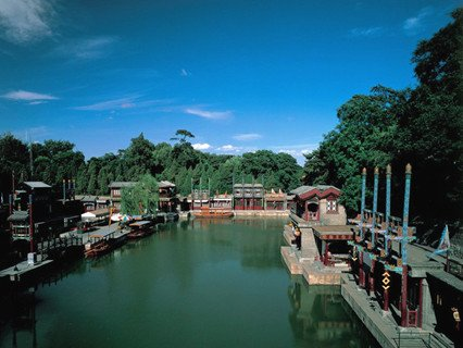 Suzhou Street of Summer Palace