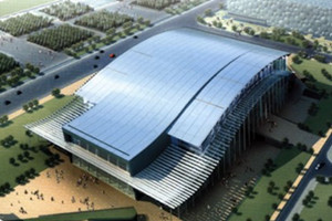 National Indoor Stadium-Top 10 Beijing Modern Architecture