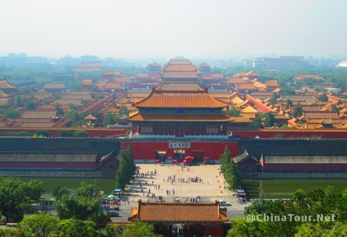 Panorama of the Imperial Palace