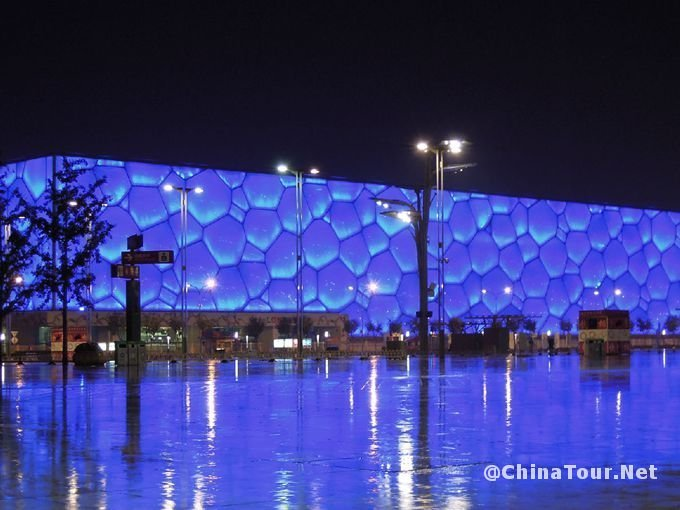 National Aquatics Center (Water Cube)