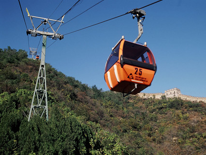 Cable Car on the Great Wall