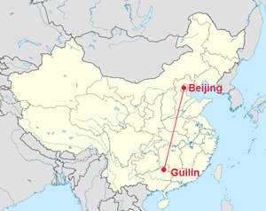 beijing to guilin_meitu