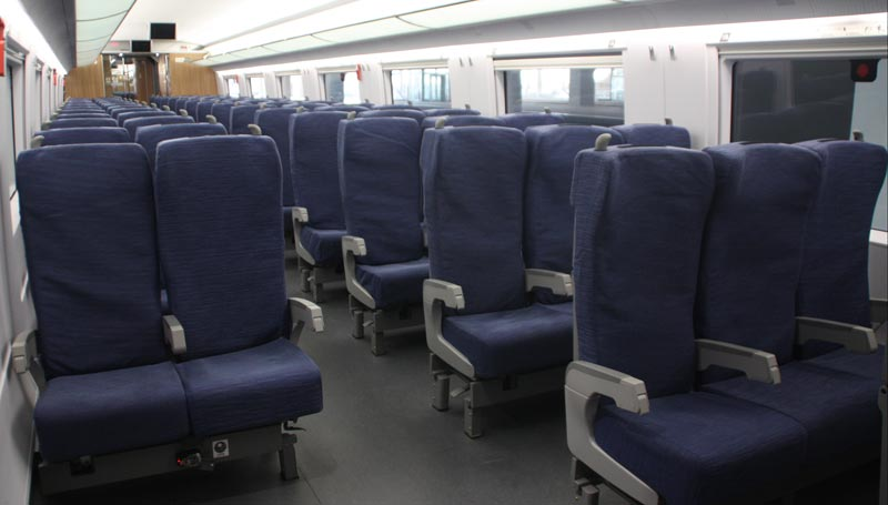 second class seat
