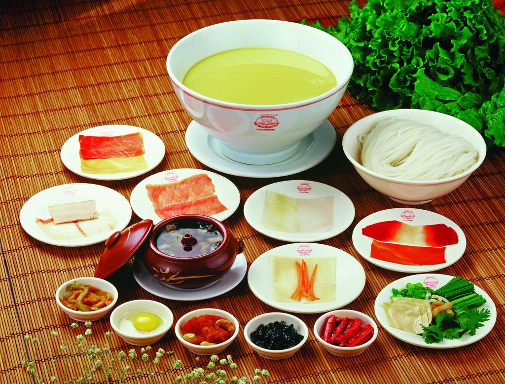 guoqiao rice noodle