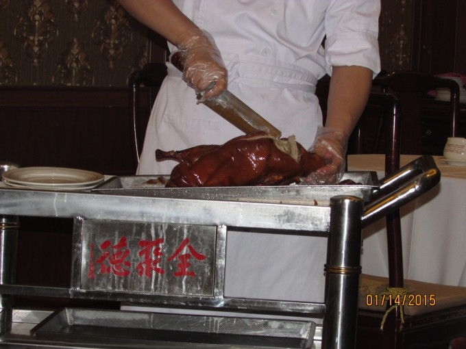 Famous Peking Duck Dinner!!
