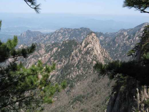 A vue of Huang Shan