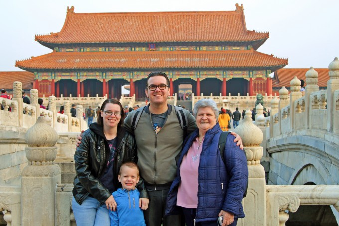 At the Forbidden City