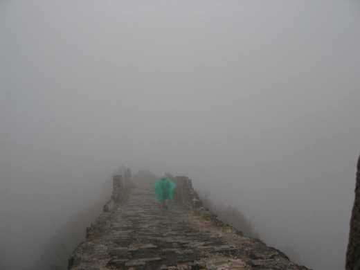 Great wall in a snow storm - very cool