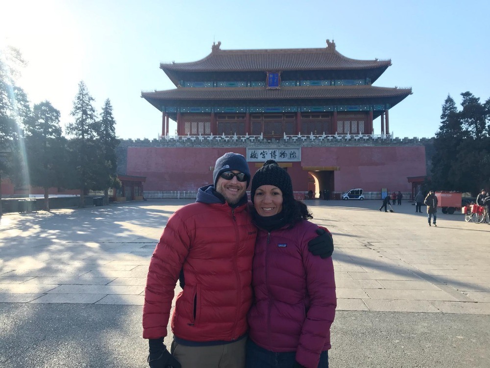 My daughter & son in law visit to China.