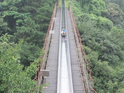 Toboggan of Mutianyu Great Wall