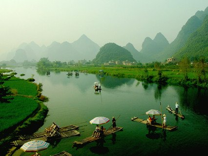 Yulong River of Yangshuo