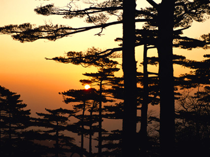 Sunset at Mt. Huangshan