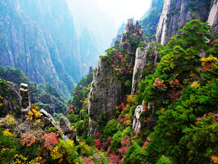 Xihai Grand Canyon at Mt.Huangshan