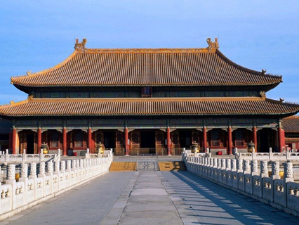 Palace of Heavenly Purity of Forbidden City