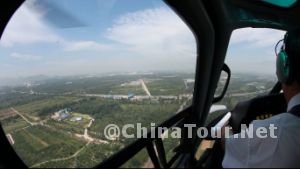 Scenery seen from the helicopter