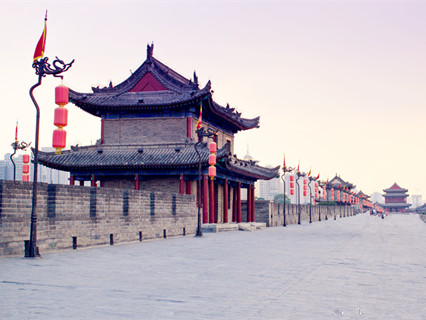 xi'an wall.