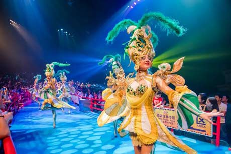 Chimelong International Circus Tour