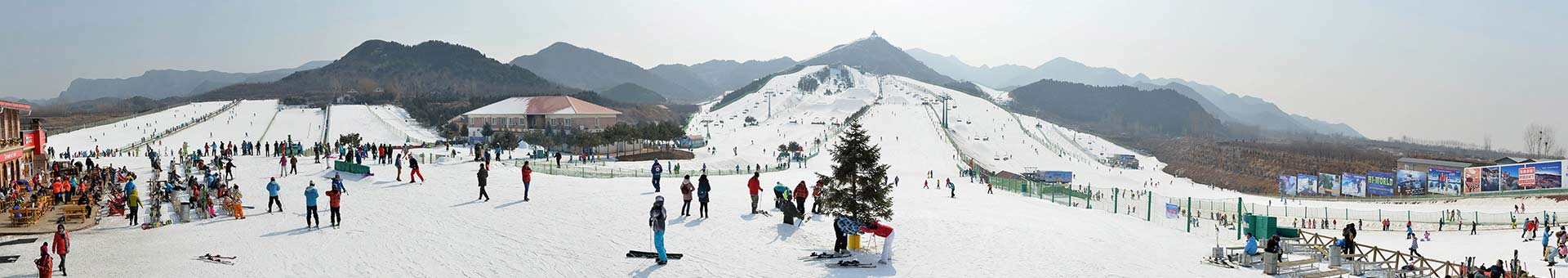 1 Day Nanshan Ski Resort and Chunhuiyuan Hot Spring Tour