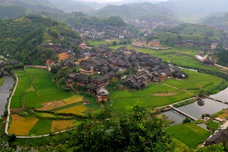 6 Days guilin sanjiang longsheng yangshuo tour