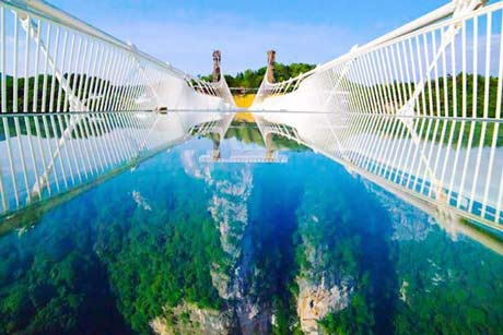 1 Day Zhangjiajie Glassbridge Baofeng lake